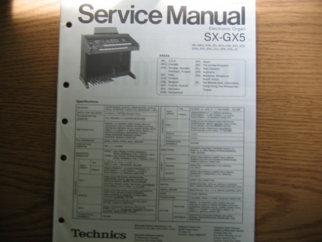 technics sx gx5 electronic organ sx gx5 electronic organ 33 90 rh durhamkeyboard com