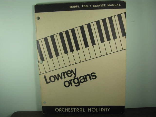 TGO-1- Orchestral Holiday- Service Manual